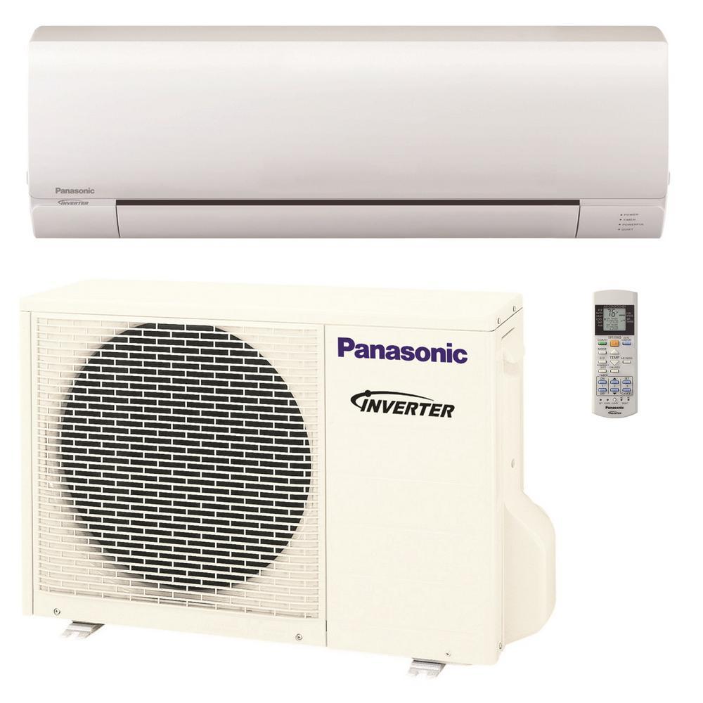 Panasonic 12 000 Btu 16 Seer Ductless Mini Split System