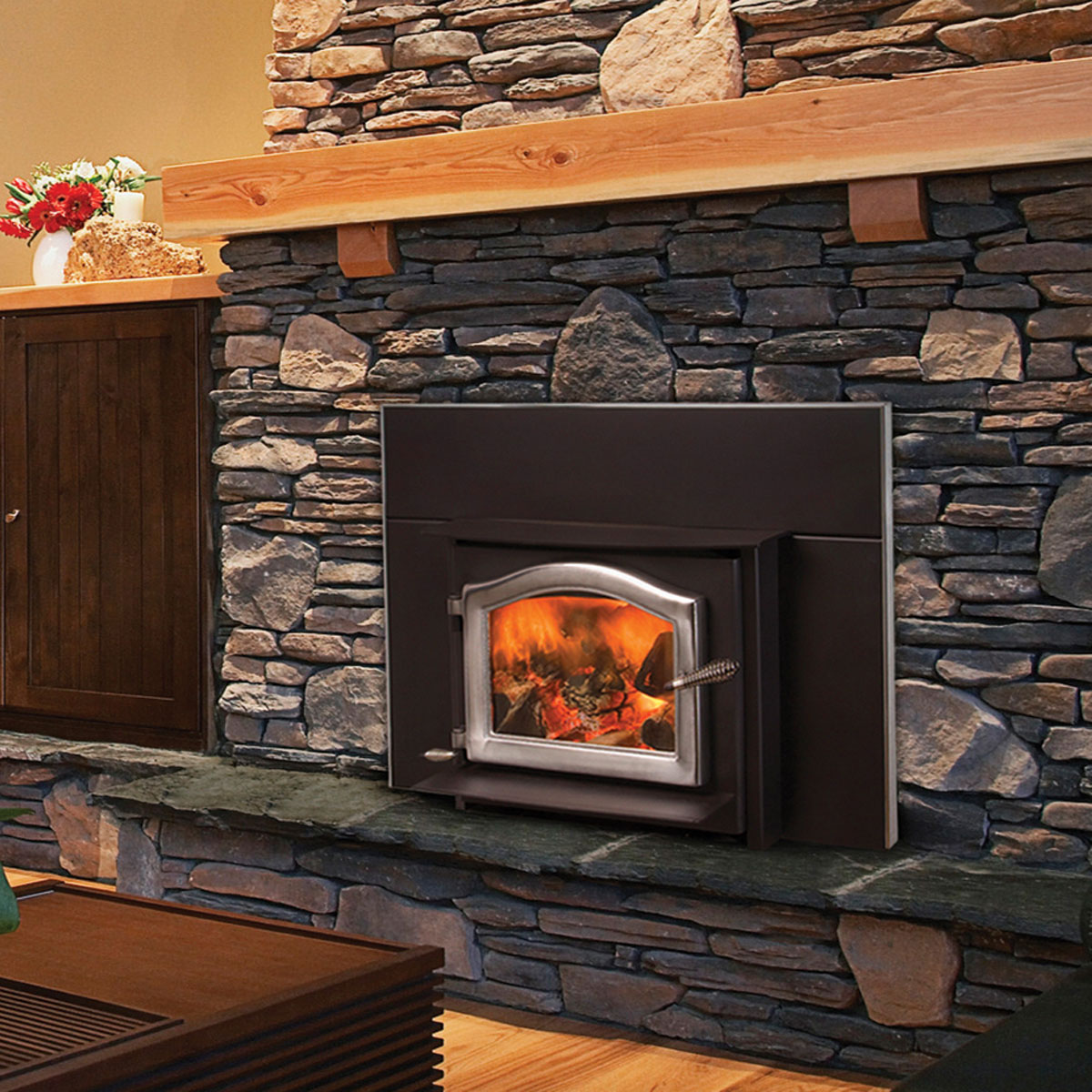 Kuma Ashwood Insert Smokey S Stoves