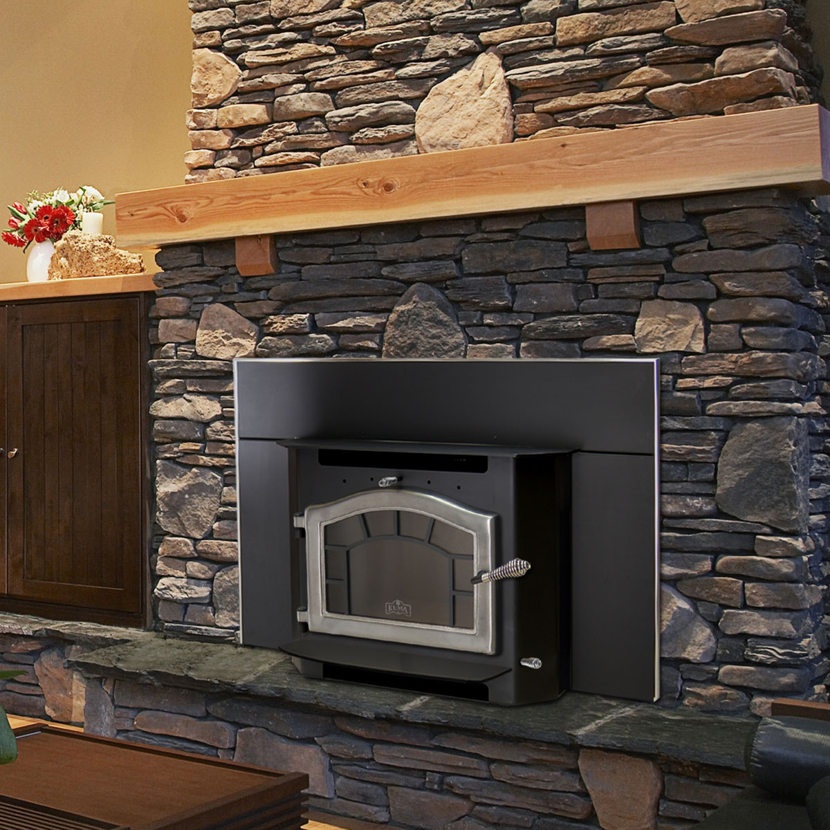 Build Wood Burning Fireplace Insert - Fireplace Ideas