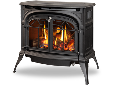 Vermont Castings Radiance Direct Vent Gas Stove Smokey