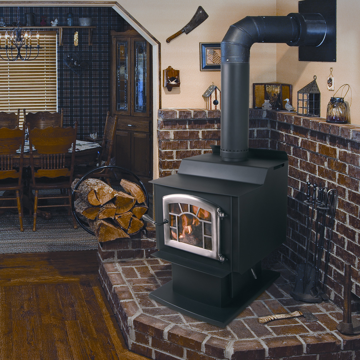 Kuma Wood Classic Smokey S Stoves